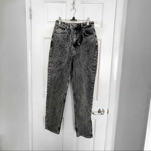 Acid Wash Mom Jeans from Nasty Gal